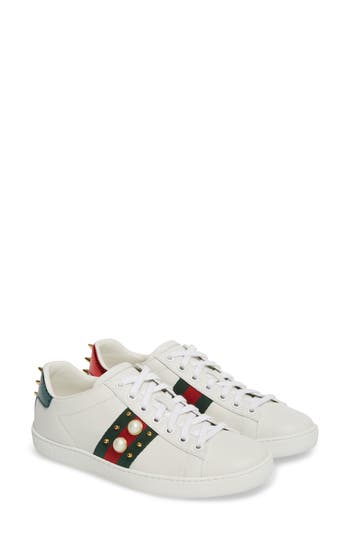 Gucci 'New Ace' Low Top Sneaker