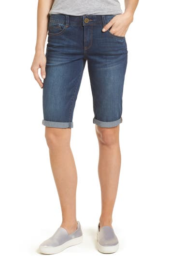 Ab-Solution Cuffed Denim Shorts