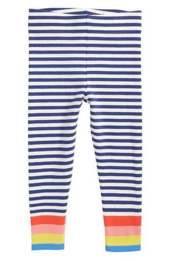 Girl's Mini Boden Fun Leggings, Size 4-5Y - Blue