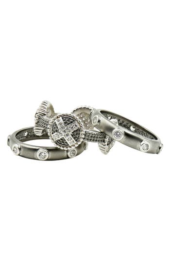 Women's Freida Rothman Industrial Finish Stackable Rings