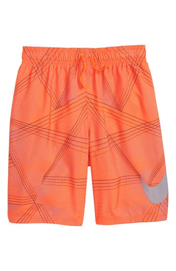 Boy's Nike Breaker Volley Shorts, Size S (8) - Red