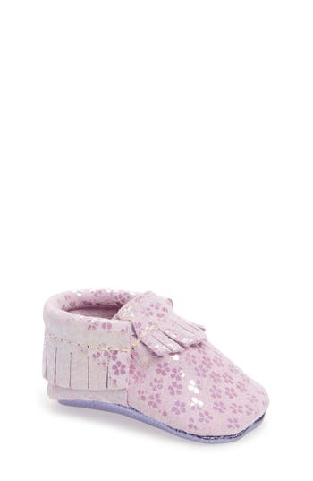 Girl's Freshly Picked Lilac Blossom Moccasin