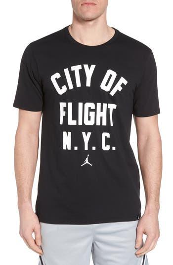 Nike Jordan Sportswear City Of Flight T-Shirt, Black