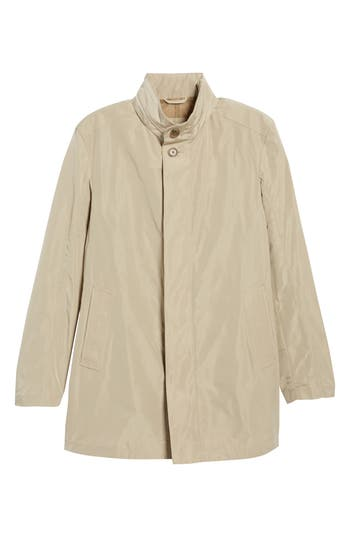 Men's Sanyo Getaway Raincoat, Size Small - Beige