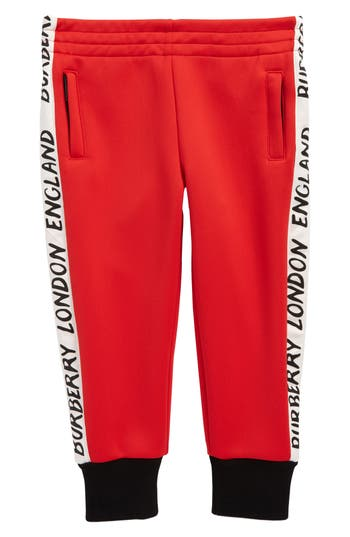 Boys Burberry Bernard Logo Track Pants