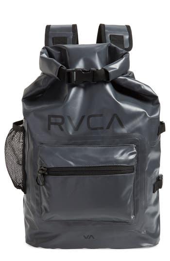 Rvca Go Be Ii Waterproof Backpack - Grey