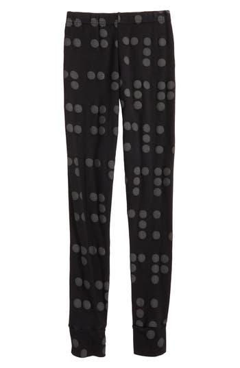 Girls Nununu Braille Dot Leggings Size 1011Y  Black