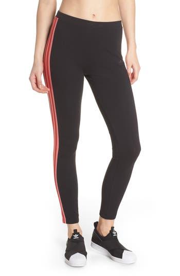 Adidas Clrdo Mesh Leggings, Black