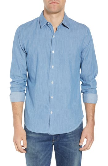 Bonobos Unbutton Down 2.0 Slim Fit Chambray Sport Shirt
