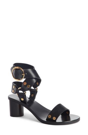 Isabel Marant Women's Jeyka Studded Moto Sandal jrv26xN