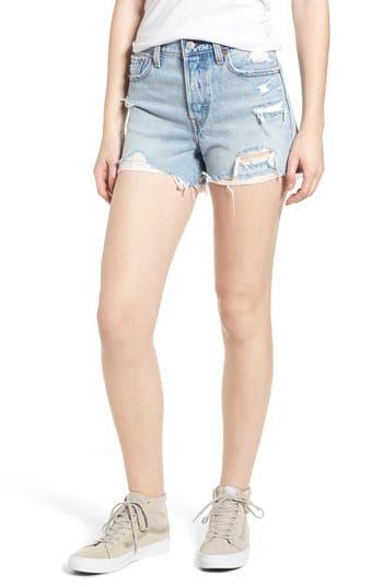 Levi's® Wedgie Update High Waist Cutoff Denim Shorts