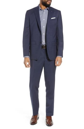 Men's Ted Baker London Jay Trim Fit Check Wool Suit