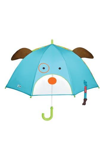 Skip Hop Zoobrella  Dog Umbrella  Blue