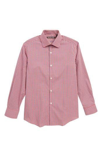 Boys Michael Kors Check Dress Shirt