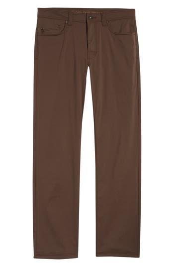 Men's Prana Brion Slim Fit Pants, Size 34 - Brown