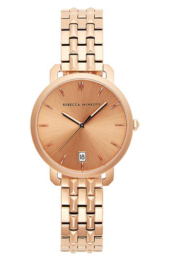 Rebecca Minkoff Billie Bracelet Watch, 34mm