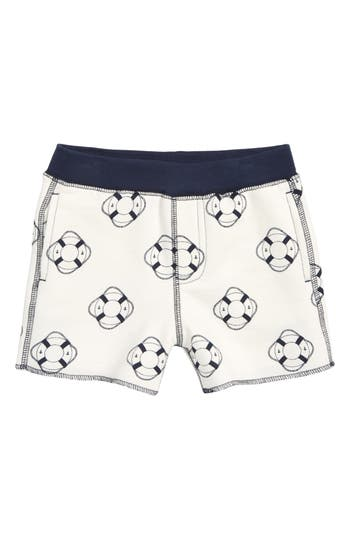 Toddler Boys Monica  Andy Welcome Aboard Organic Cotton Shorts