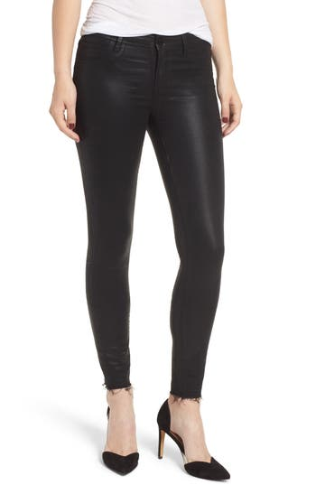 Articles of Society Sarah Coated Skinny Jeans