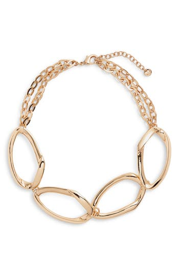 Halogen® Chain Link Collar Necklace