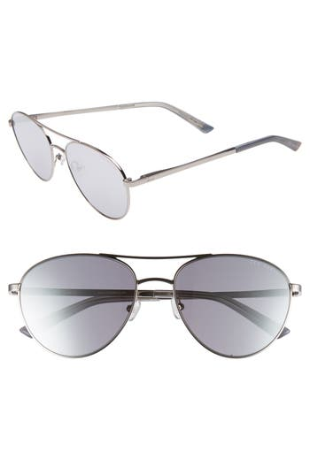 Ted Baker London 55mm Aviator Sunglasses