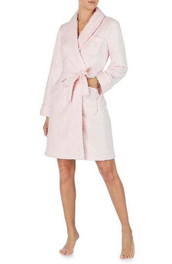 Lauren Ralph Lauren Short Fleece Robe