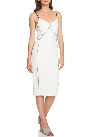 1.STATE Seamed Slipdress