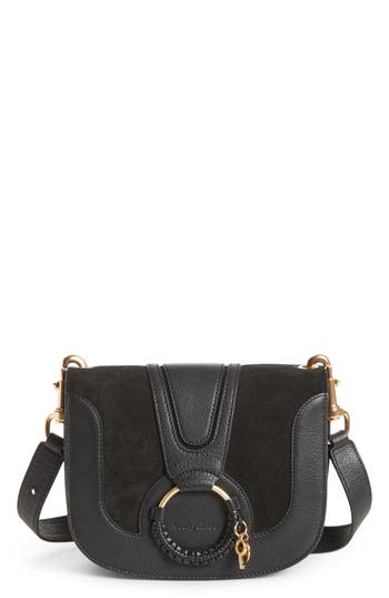 See by Chloé Hana Suede & Leather Shoulder Bag
