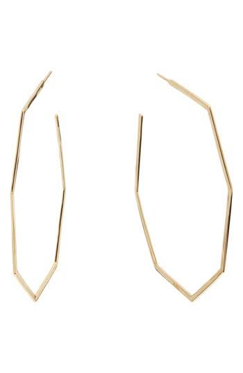 Lana Jewelry Open Octagon Hoop Earrings