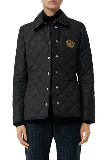 Burberry Franwell Diamond Quilted Jacket