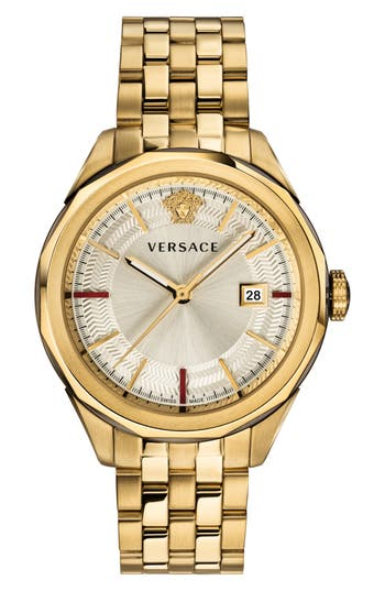 Versace Glaze Bracelet Watch, 43mm