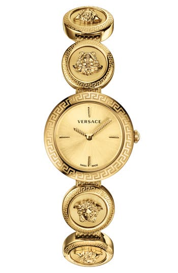 Versace Medusa Stud Icon Bracelet Watch, 28mm