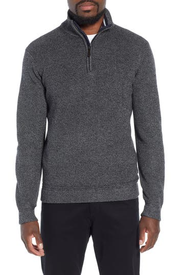 Ted Baker London Lohas Slim Fit Funnel Neck Sweater