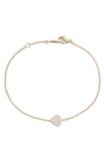 Nadri Heart Station Bracelet