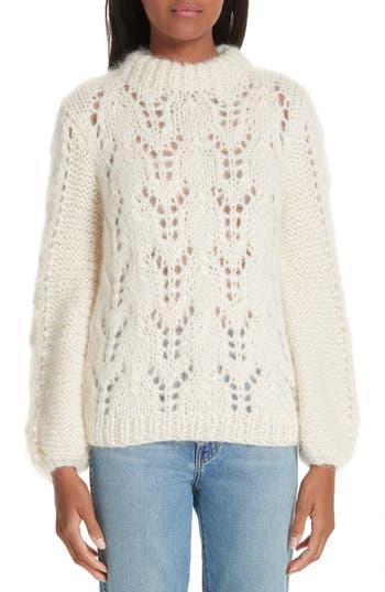 Ganni Mohair & Wool Sweater