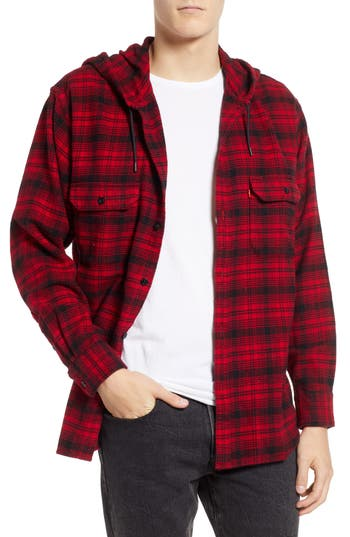 Levi's® x Justin Timberlake Hooded Flannel Worker Shirt
