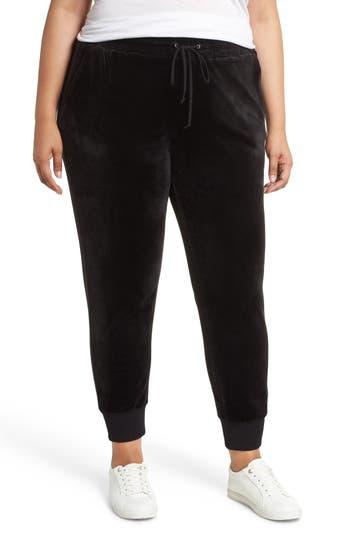 Caslon® Off Duty Velour Jogger Pants