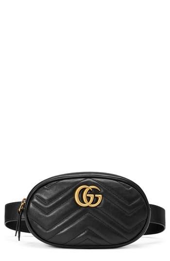 Gucci GG Marmont 2.0 Matelassé Leather Belt Bag