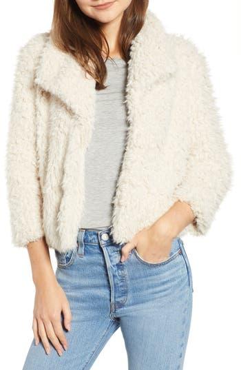 BB Dakota Hugs Don't Lie Faux Fur Coat