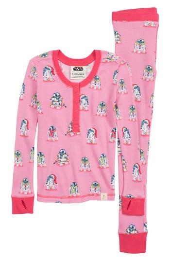 Munki Munki Star Wars(TM) Slumber Fitted TwoPiece Thermal Pajamas