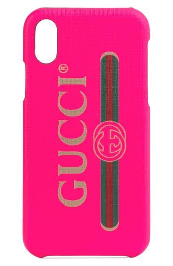 Gucci Logo iPhone X/Xs Case