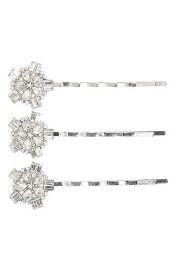 Tasha 3-Pack Embellished Bobby Pins