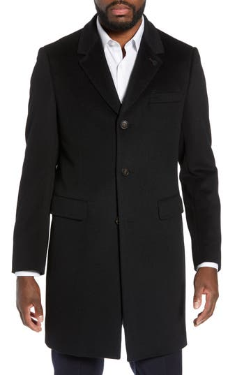Ted Baker London Swish Wool & Cashmere Overcoat