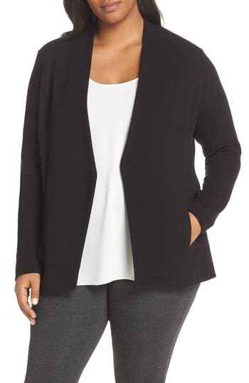 NIC+ZOE Sleek All Day Blazer (Plus Size)