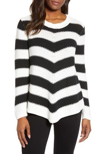 Caslon® Stitch Stripe Sweater
