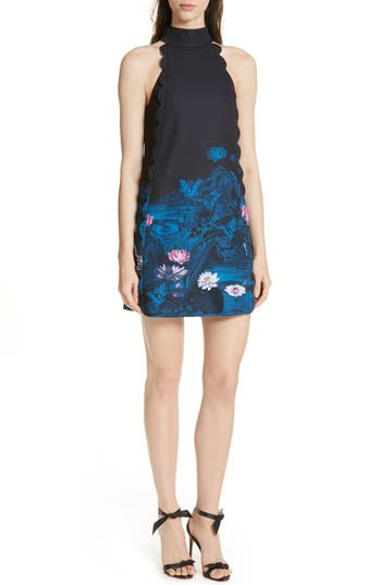 Ted Baker London Eurela Wonderland Scalloped A-Line Dress