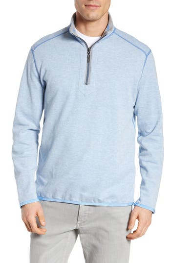 Tommy Bahama Huddle Up Half Zip Pullover