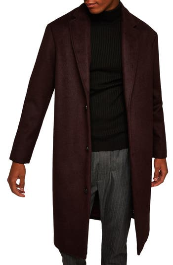 Topman Hayden Oversize Overcoat