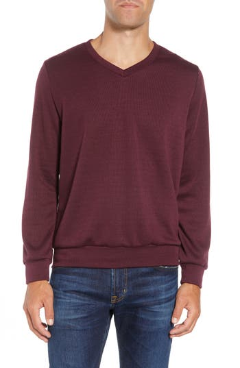 Mizzen+Main Pomerelle V-Neck Performance Sweater