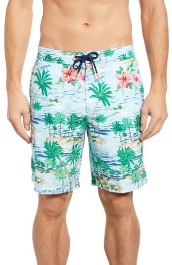 Tommy Bahama Baja Aloha Surf Classic Board Shorts