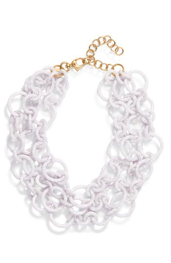 Lele Sadoughi Broadway Statement Necklace